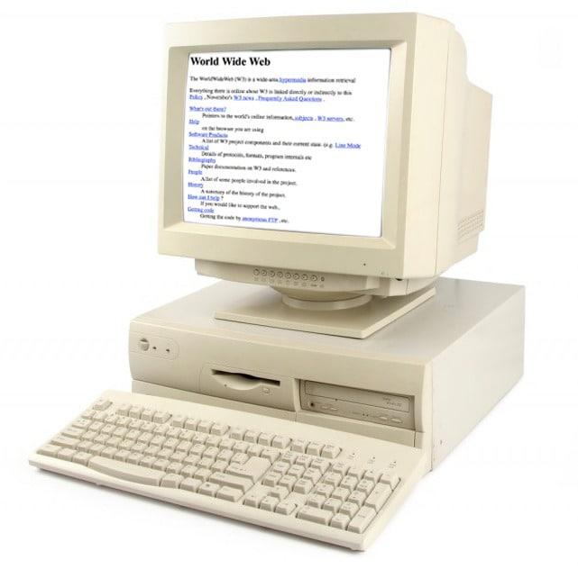 Sur les premiers sites web, seuls les textes avaient ici leur place et on n'évoquait guère à cette période le terme de design.