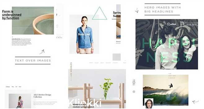 Le webdesign 3.0 ou Print Design
